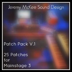 Mainstage 3 Sounds | Jeremy McKee Sound Design